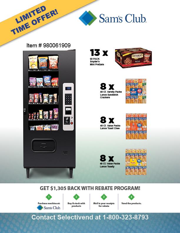 Get $1,305 back with rebate program!